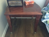 Cherry Wood Coffee and matching Side Table Halton Hills