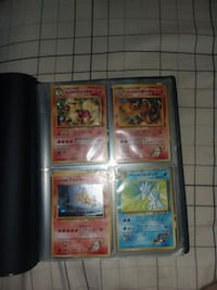 Binder of rare and assorted pokemon cards