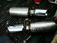 gray and black exhaust tips Macon