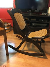 black and brown wooden rocking chair Des Moines, 50310