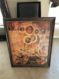 Framed Canvas Gears Print Gainesville, 20155