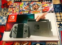 Nintendo switch brand new my son used a few times with games Fall River, 02724