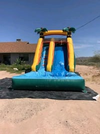 16 ft tropical water slide Tempe, 85283
