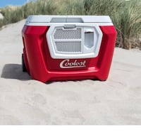 red and white Coolest ice cooler Gilbert, 85233
