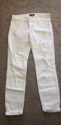 White jeans, STS blue, size 3 Portland, 97236