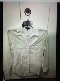 Lord & taylor multi color button down collared women's shirt NWT sz medium New York, 10128