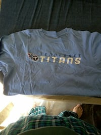 gray Tennessee Titans crew-neck t-shirt Pahrump, 89048