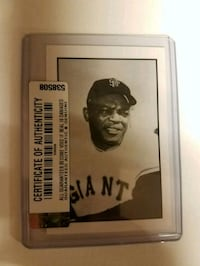 HOLIDAY BLOWOUT!! Willie Mays card  Indianapolis, 46236