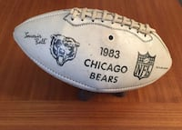 Chicago Bears Special Signed Football 575 mi