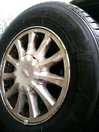 Snow tires. New tires but the transmission just on Surrey, V3W 6P8