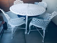 Patio chairs and table Denver