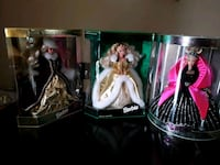 Three Holiday Barbies/ no other pics or info avail Troutdale, 97060