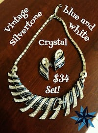 Vintage Necklace and Earring Set Port Coquitlam, V3C 2A1
