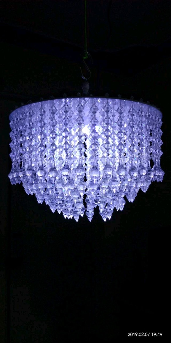 """12"""" Chandelier, jhumer with led lightning"""