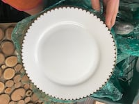 Gold Scalloped China / Dinner Plate  Kissimmee, 34746