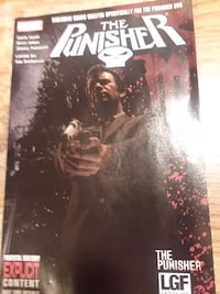 Exclusive  marvel punisher comic