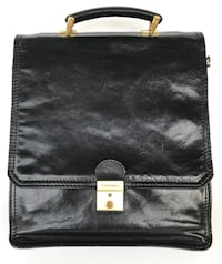 Sac Unisexe élégant en Cuir Stylish Unisex Leather Bag Made in Montréal