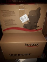 Brand new in box. Britax toddler car/booster seat. Sealed
