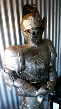 life size suit of armor