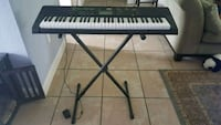 Casio electronic keyboard with stand DeBary, 32713