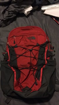 red and black Nike backpack Boston, 02121