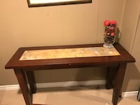 Sofa table and matching end table