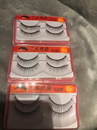 3 boxes of C9. (6 set of eyelashes) Vaughan, L6A 3E6