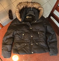 Guess Down-Filled Jacket with Faux Fur Hood Toronto, M6J 2G6