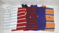 11 Polo Shirts Lot Alexandria