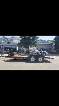 20 foot flat deck trailer