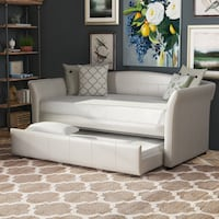 Brand new in box white daybed with trundle bed  Surrey, V3S 7M4