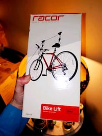 Brand New-Still in Box*Racor Bike Rack Lifts Ceiling Bicycle Mount