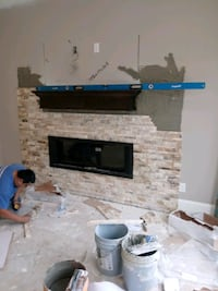 stacked STONE INSTALLATIONS Bryan