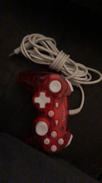 Red and white game controller Sand Springs, 74063