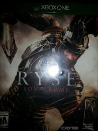 Ryse of the Son of Rome Xbox One game case