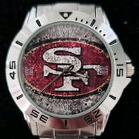 Stainless Steel San Francisco  49ers Watch Baltimore, 21224