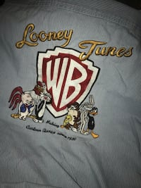 1996 Looney Tunes button down vintage shirt
