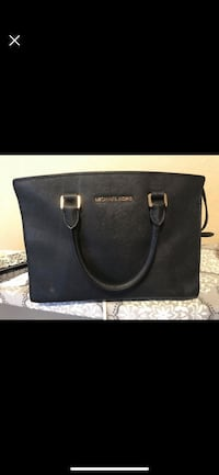 black Michael Kors leather tote bag Lubbock, 79424
