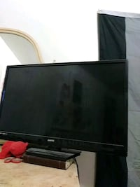 black LG flat screen TV Spokane Valley, 99206