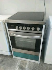 black and white gas range oven San Antonio, 78228