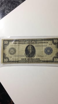 1914 Federal Reserve note in fine condition Winchester