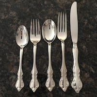 International Silver Co. Silver-Plated Flatware (4 Sets of 5) Oakville