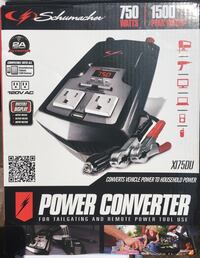 750 watt portable power converter- NEW Capitol Heights, 20743