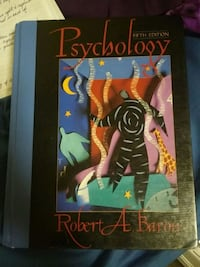 Psychology fifth edition by Robert A. Baron boo
