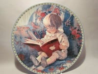 """Knowles Collector Plate - """"My First Book"""" Vaughan"""