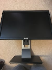 "Black Flat Screen 20"" Computer Monitor  Annandale"
