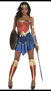 Wonder Woman Costume Laurel, 20707