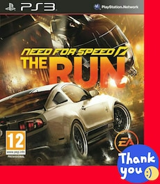 Juego PS3 «Need for Speed: The Run»