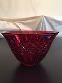 Waterford Crystal Shelton Red Bowl