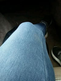 blue denim jeans and black leather shoes Yakima, 98902